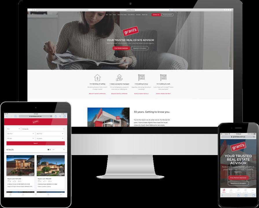 Real Estate Website Design Melbourne