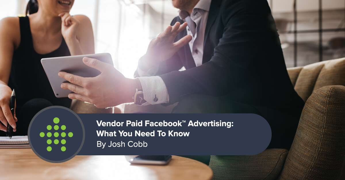 Vendor Paid Facebook Advertising in Real Estate